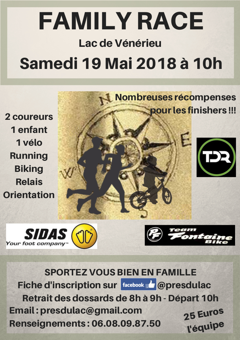 Family Race Affiche